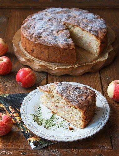 яблочный пирог ( Апфелькухен Марии )