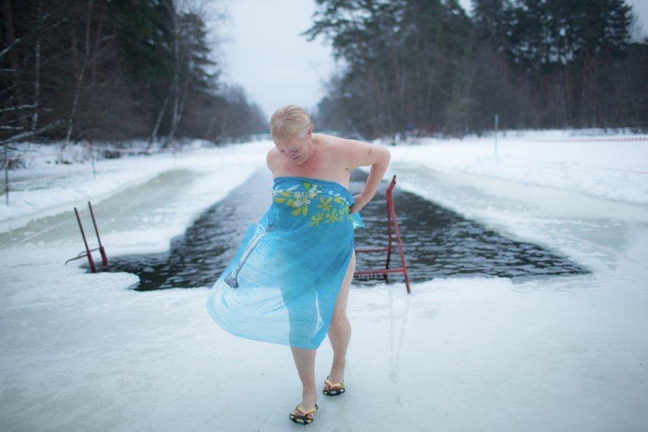 Зимние купания фото