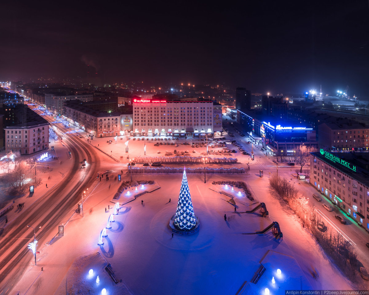 Мурманск фото города сургучев