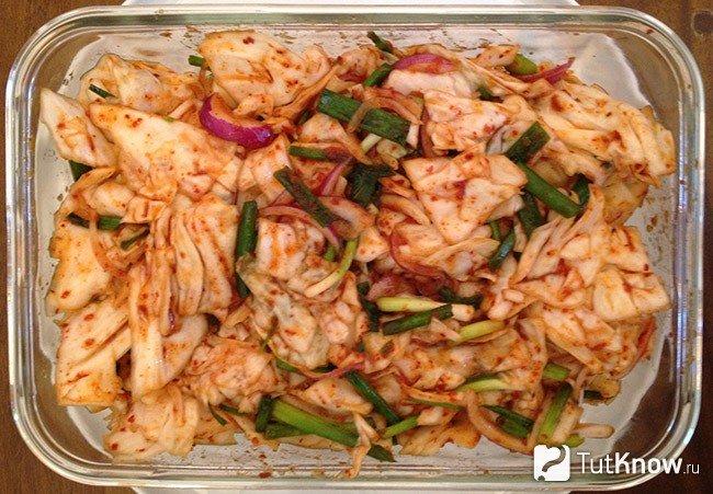 кимчи рецепт по-корейски из белокочанной капусты рецепт