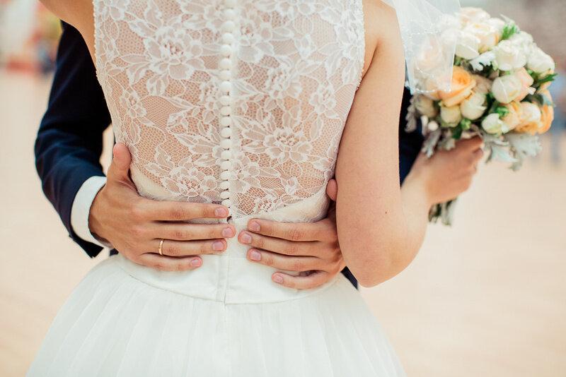 Свадьба в пастельных тонах.