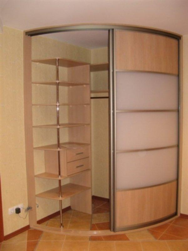 Угловые шкафы-купе в прихожую фото своими руками