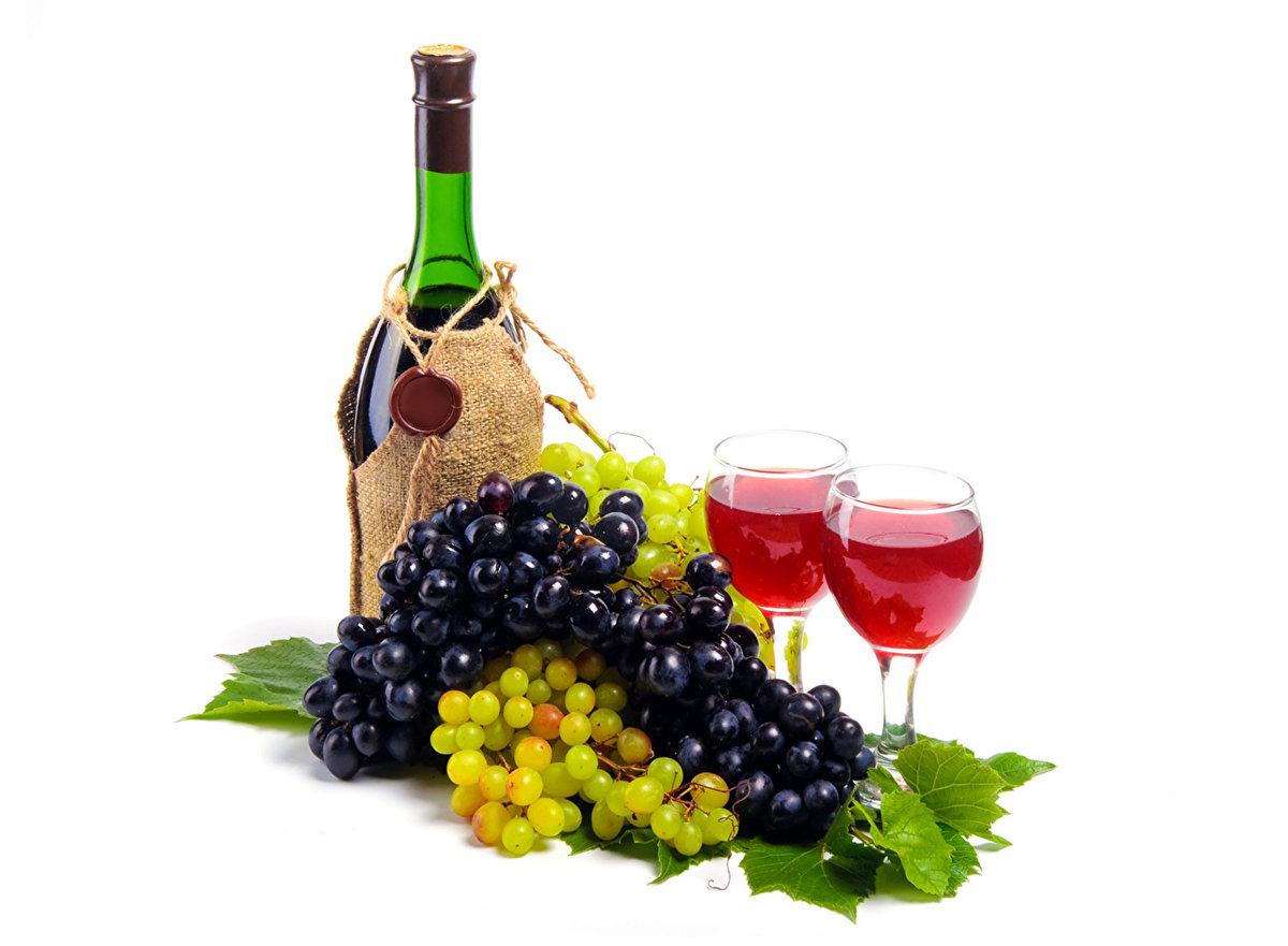 Словом, открытки с шампанским и фруктами