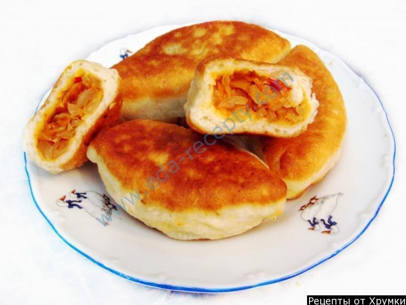 пирожки из свежей капусты жареные