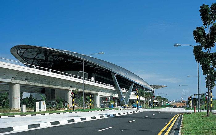 """Станция метрополитена """"Expo""""в Сингапуре"""