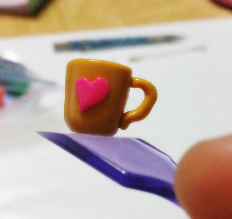 Hand Made PolymerClay Mug