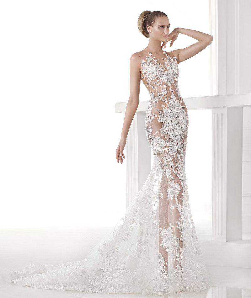Платье невесты русалочка
