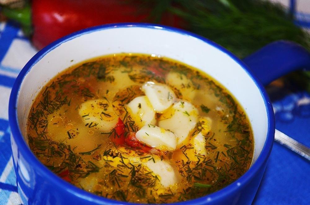 славянской суп с галушками фото рецепт приготовления традиционный суп