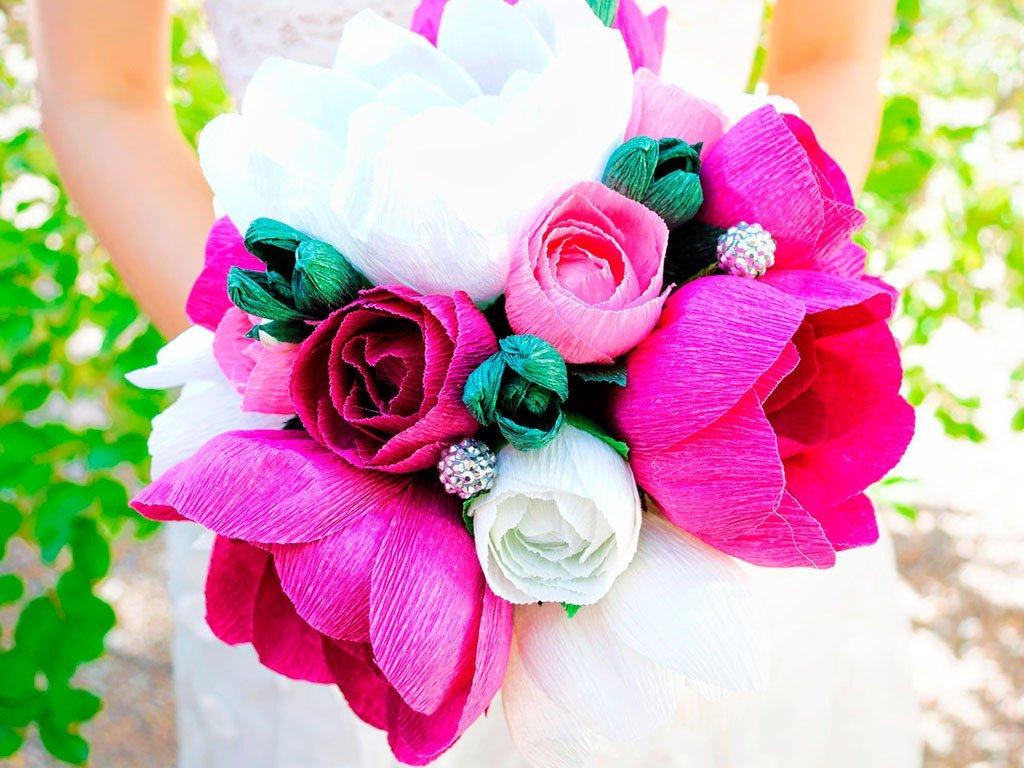 Цветы из конфет своими руками пошагово с фото фото 95