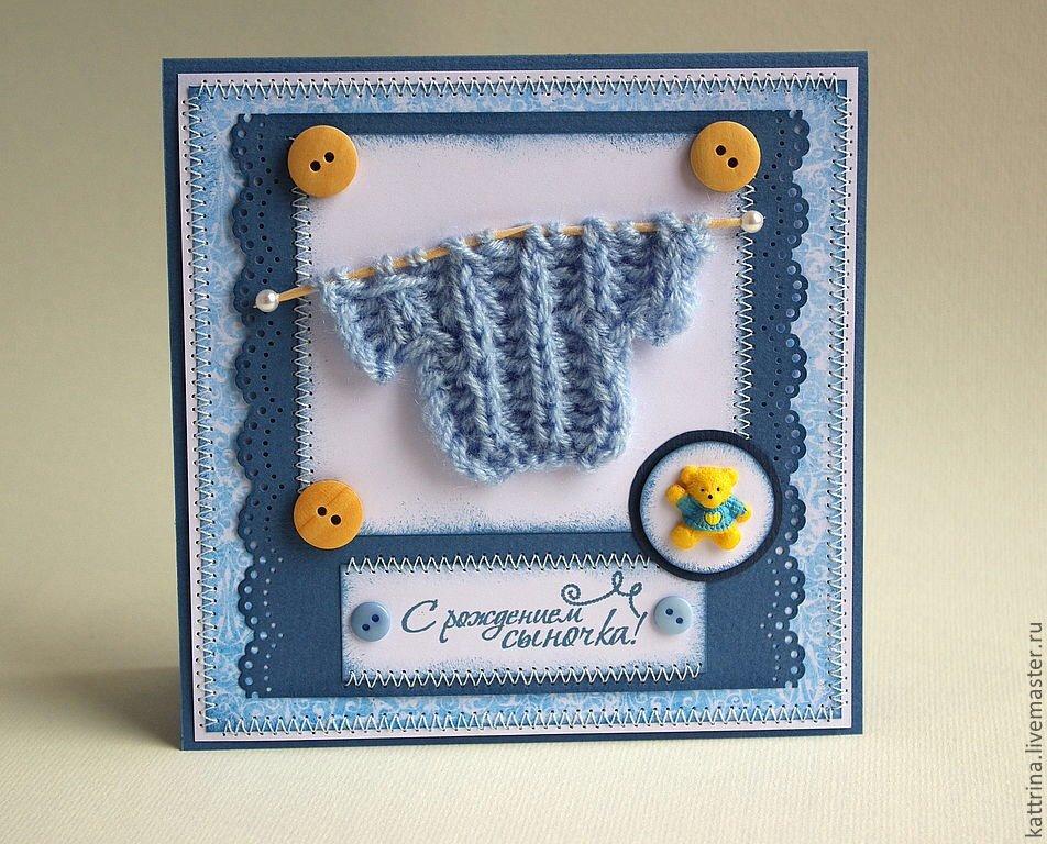 Креативные открытки с рождением ребенка