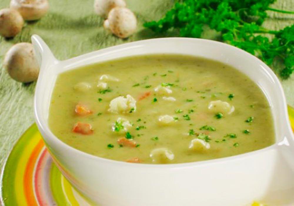 суп из цветной капусты с картофелем