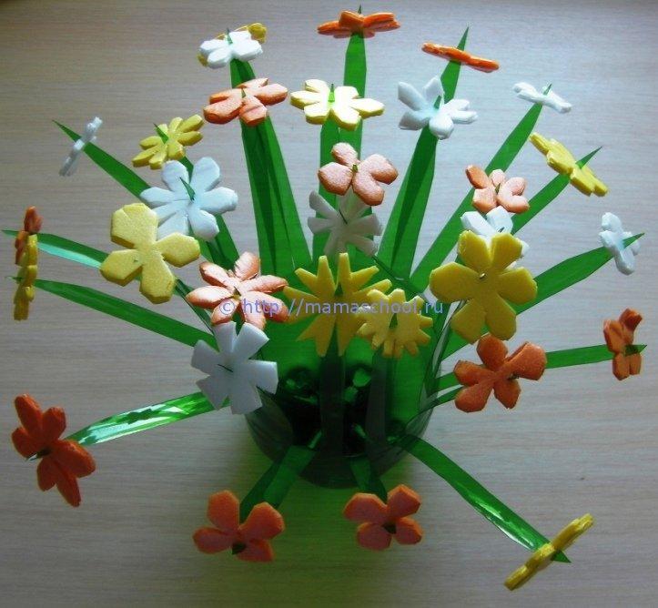 Цветы для сада своими руками 204