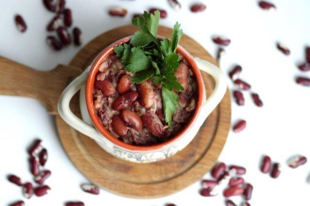Лобио из красной фасоли классический рецепт фото