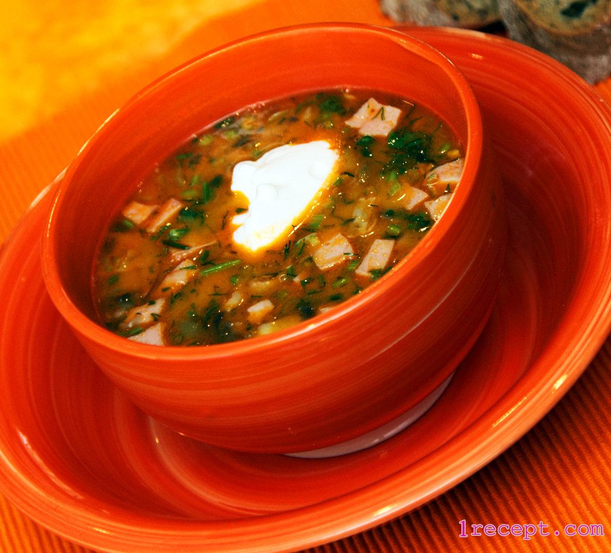 взять рецепт супа солянки мясной сборной профильный