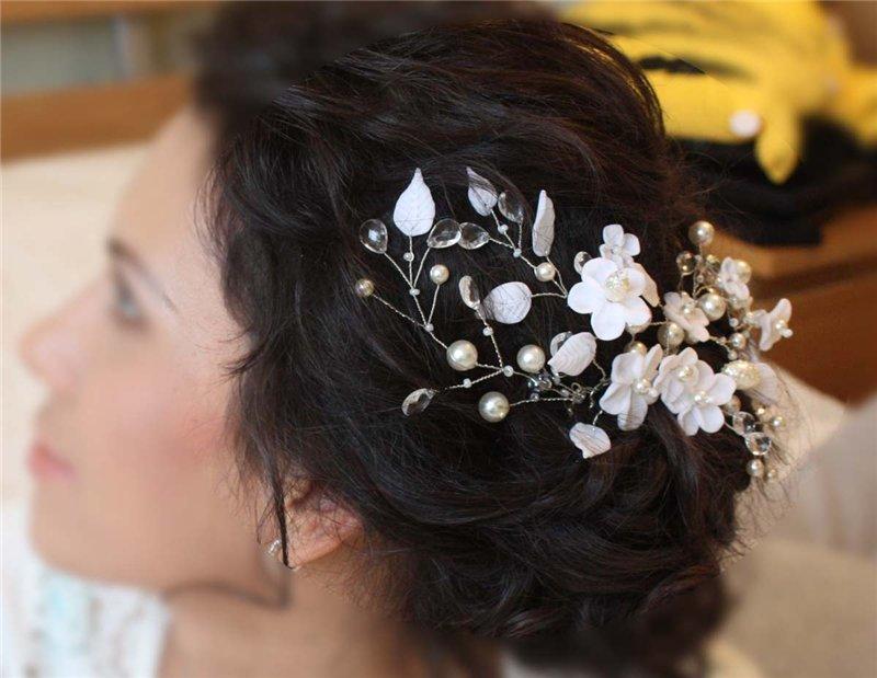 4ef06ca7b00b6c9 ... Свадебные украшения в волосы для невесты Украшения в прическу невесты