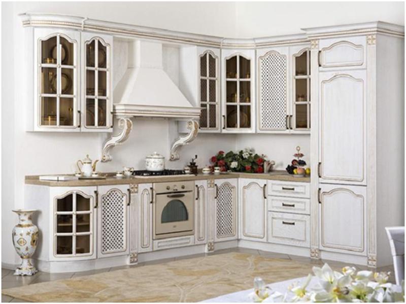 кухонный гарнитур под старину фото