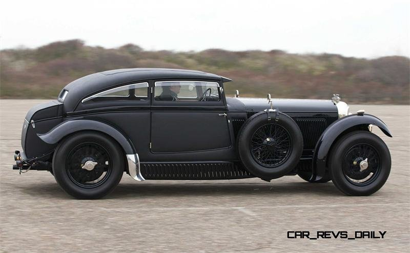 "Bentley Speed 6 Coupe by Gurney Nutting ""Blue Train"" (HM2855)"