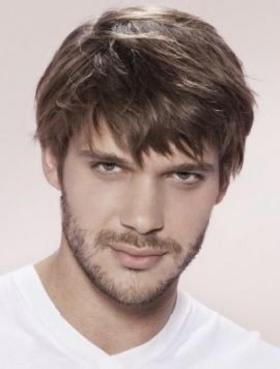 Мужчины цвет волос русый