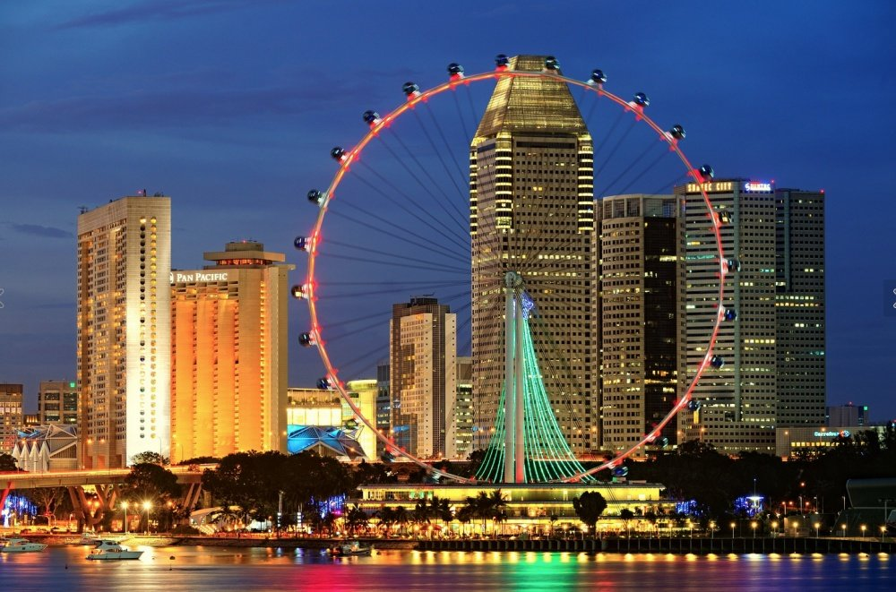 Картинки сингапур достопримечательности увидела