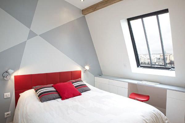 Спальня в стиле лофт | fotodesigna.ru
