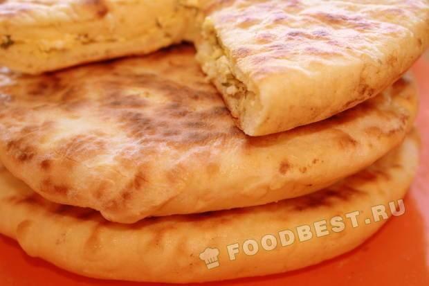Хачапури рецепт с фото пошаговый сковороде