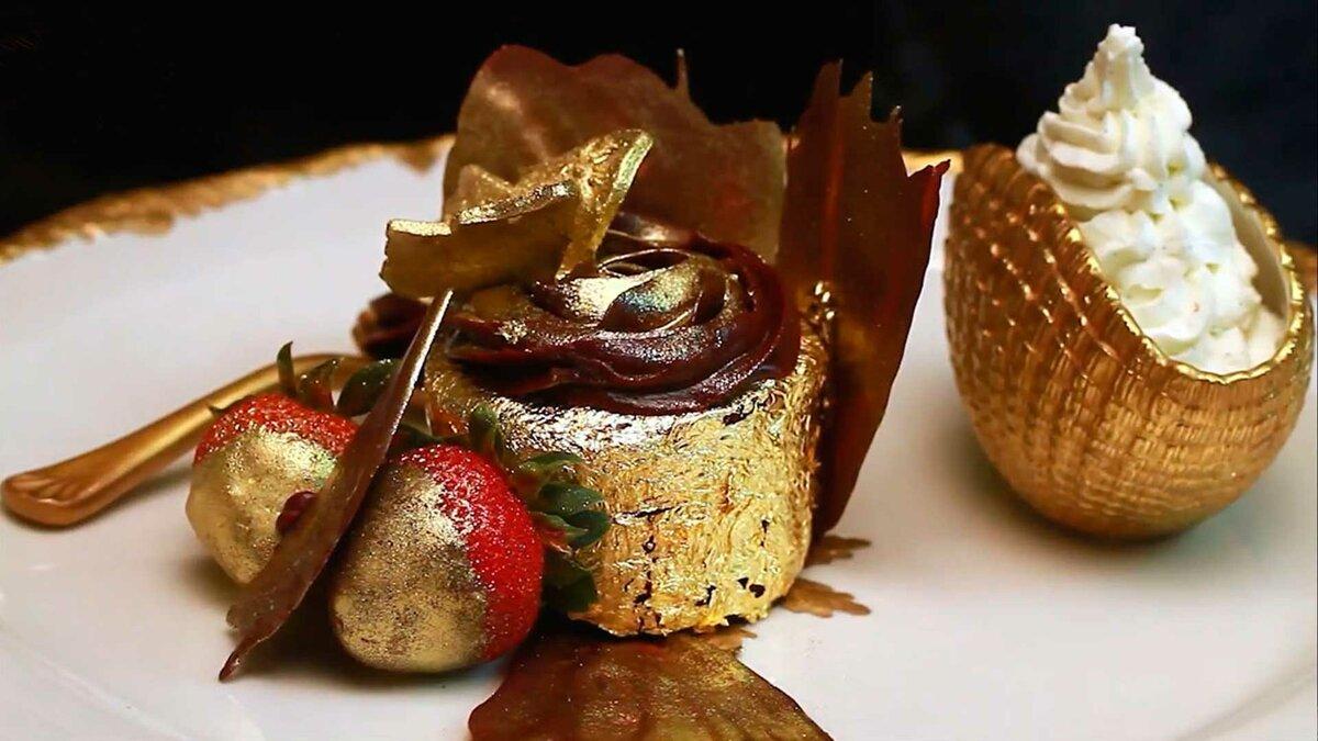 съедобное золото украшения для десертов
