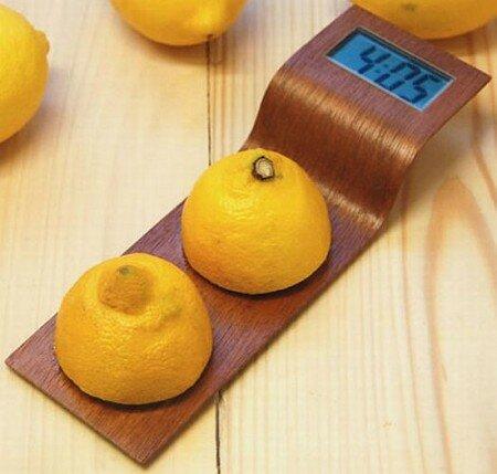 часы работающие на лимоне