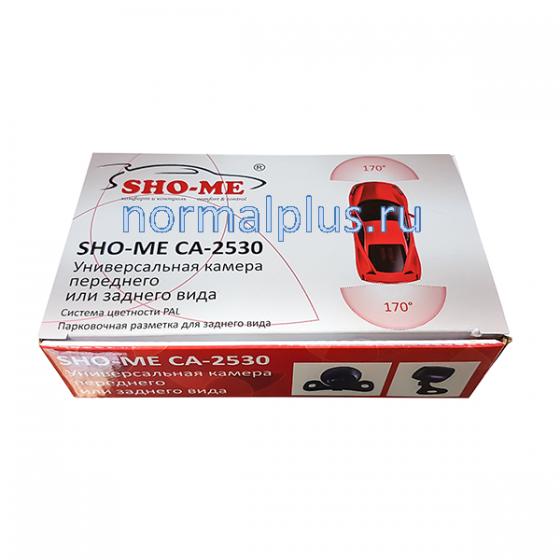 Камера заднего вида SHO-ME CA-2530 универсальная парков разметка,цветная