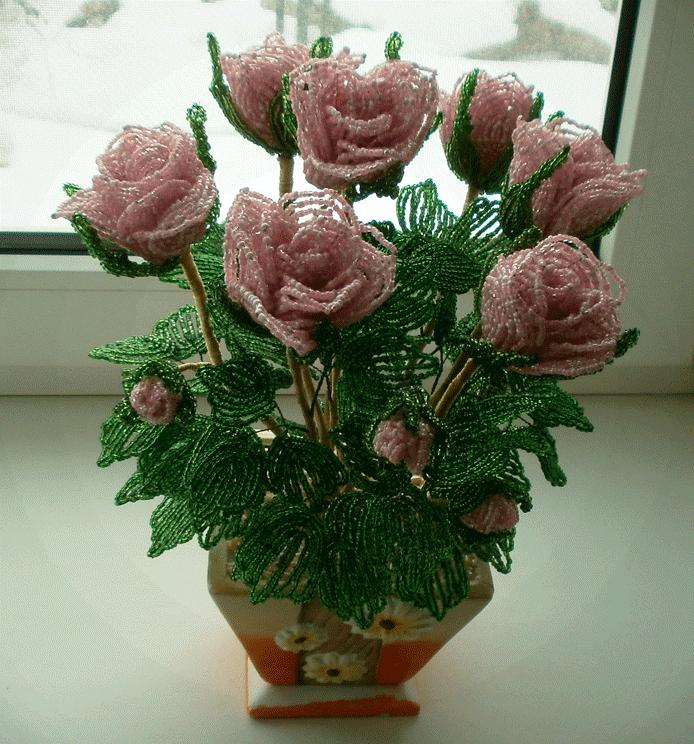 очень красивый букет роз из бисера результате проведенных исследований