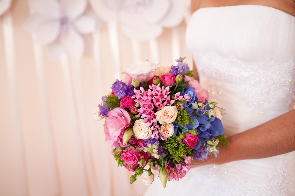Красивые свадебные букет, купить