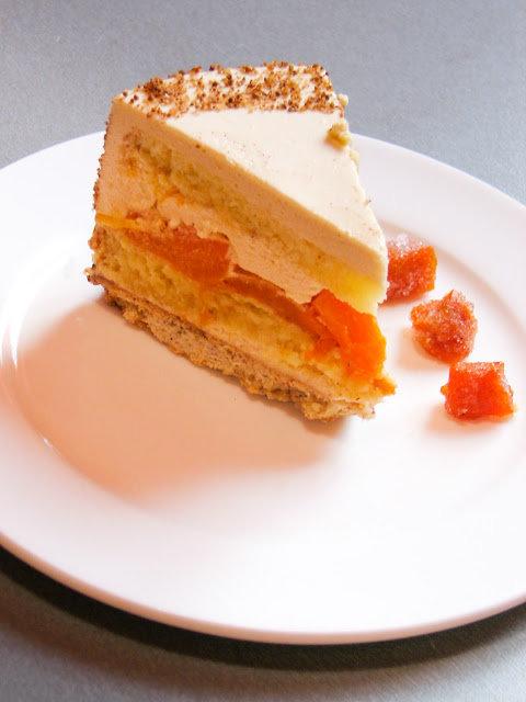 Тыквенный торт фото