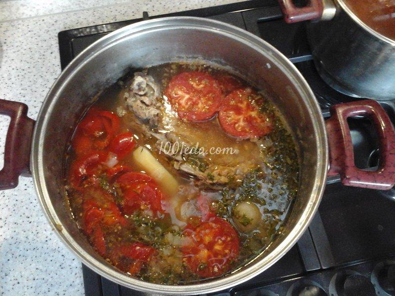 Вкусная шурпа из говядины рецепт с фото