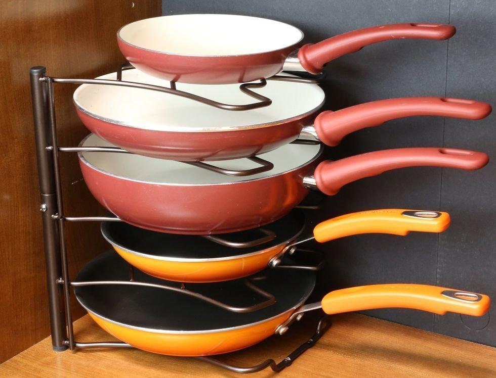 хранение сковородок купить