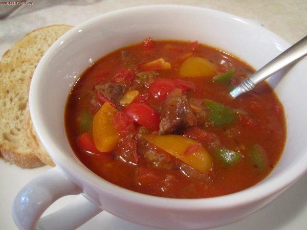 Суп гуляш по венгерски рецепт с фото