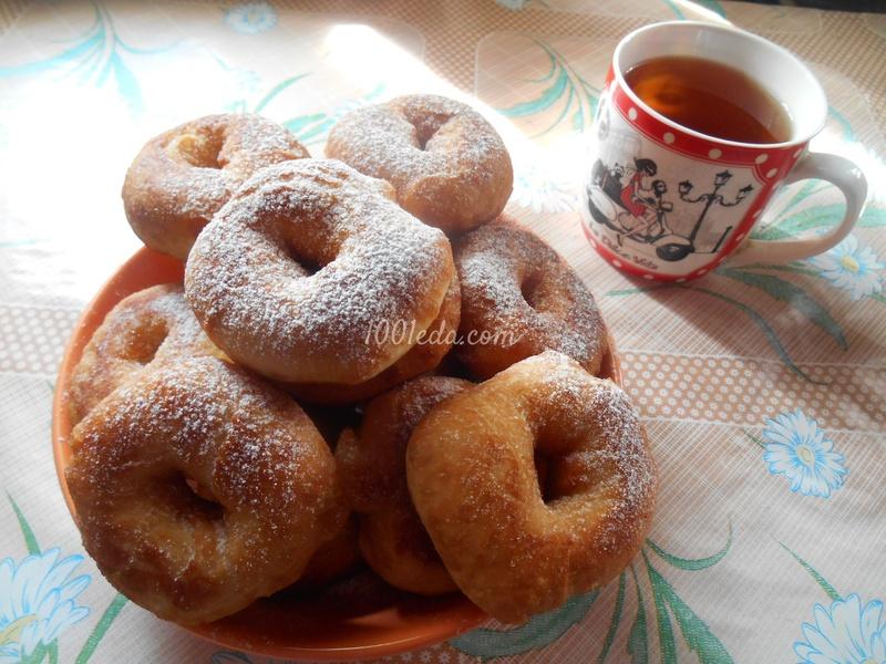 Пончики вкуснющие рецепт с пошаговым фото