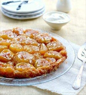 Яблочный пирог перевернутый
