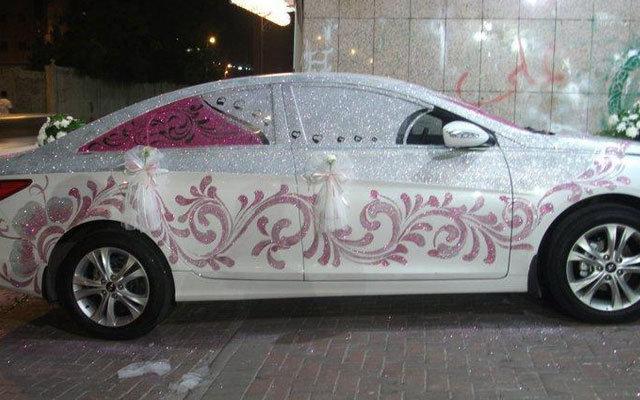 Необычный декор авто