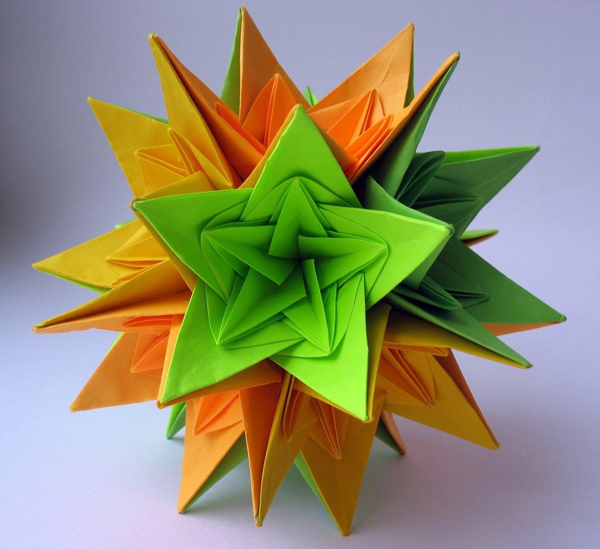 Картинки кусудама оригами