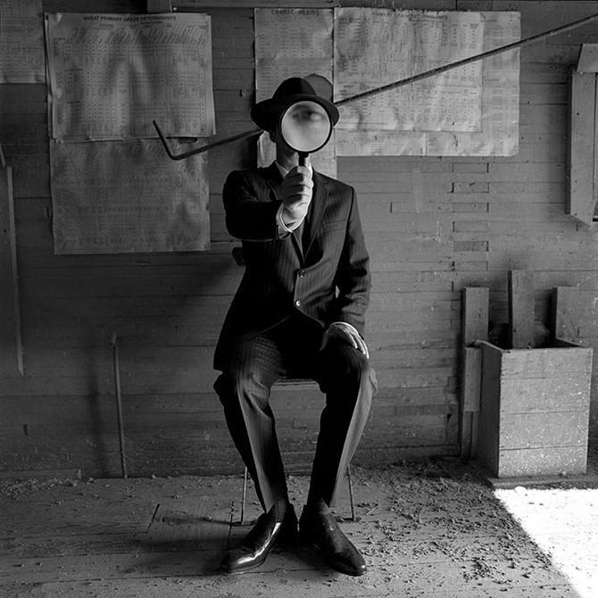 Черно белые картинки людей в черном