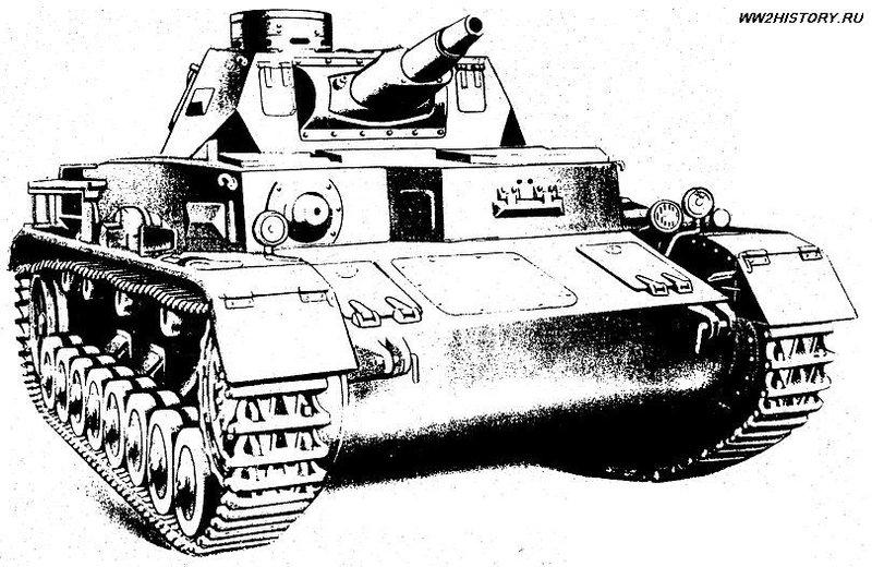 Немецкий средний танк Panzer IV