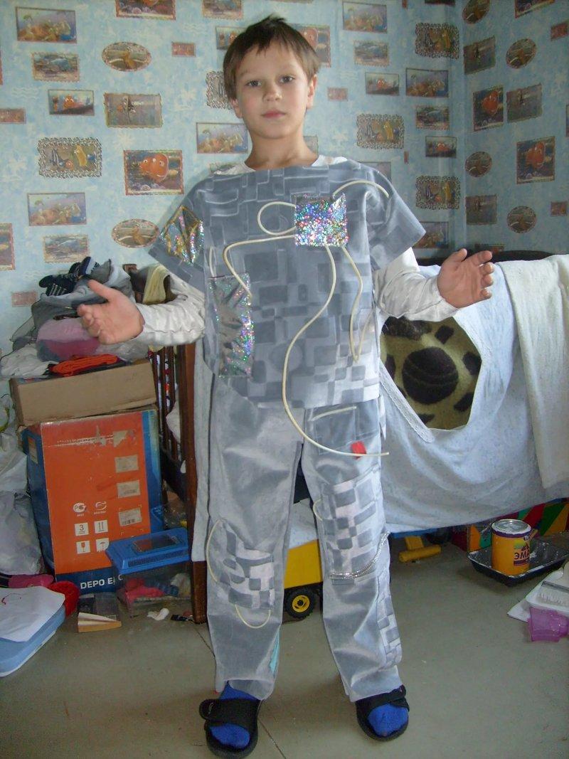Как сделать костюм для мальчиков на новый год