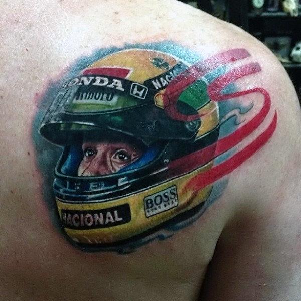 фото тату для гонщика мира легкой атлетике
