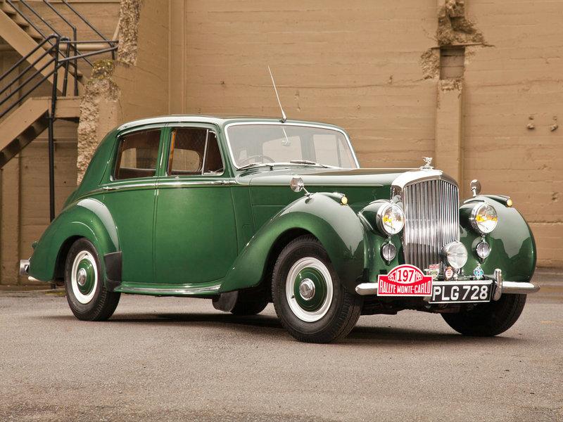 Bentley R-Type Standard Saloon '1952