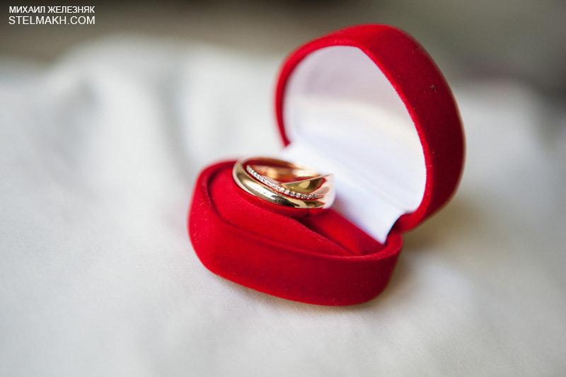обручальные кольца в красной коробочке фото супчик
