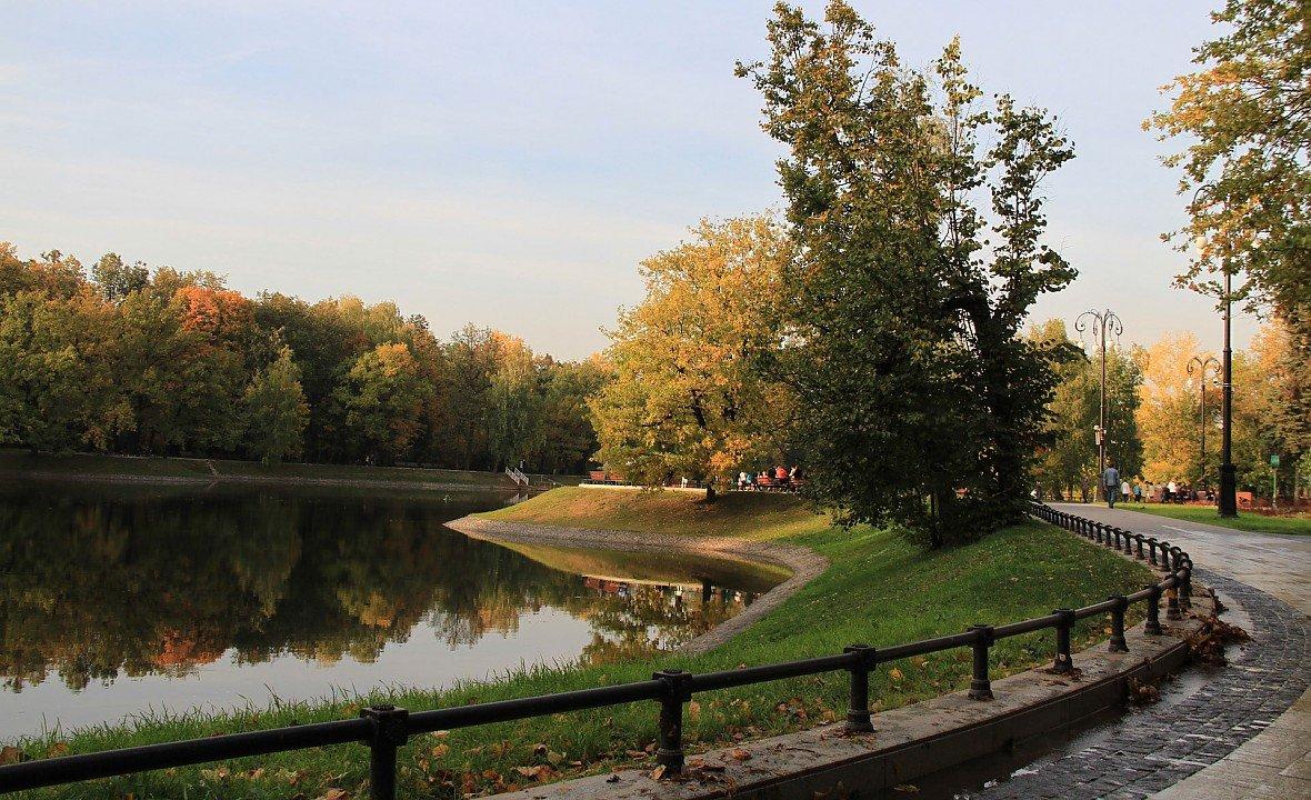 Картинки парк в киеве свете существует
