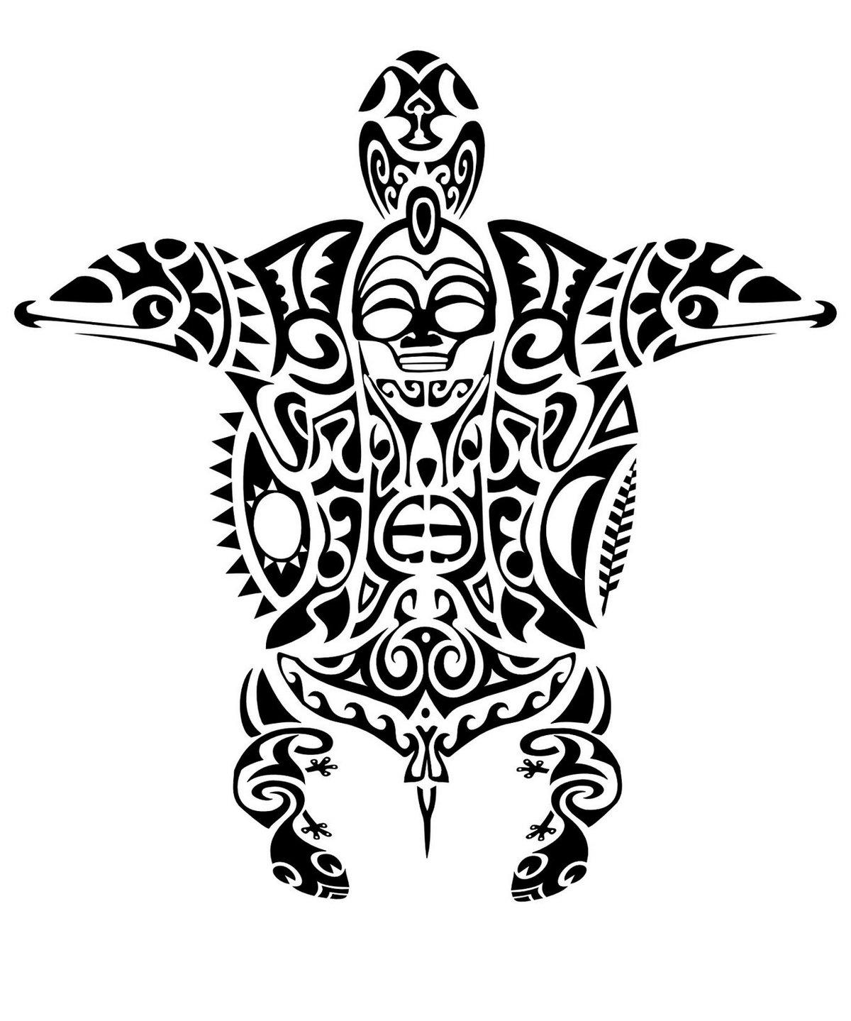 Полинезия: тату, значение и особенности.