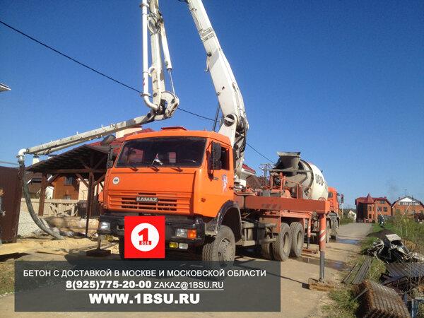 доставка бетона миксером в Новой Москве