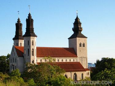 город висбю кафедральный собор