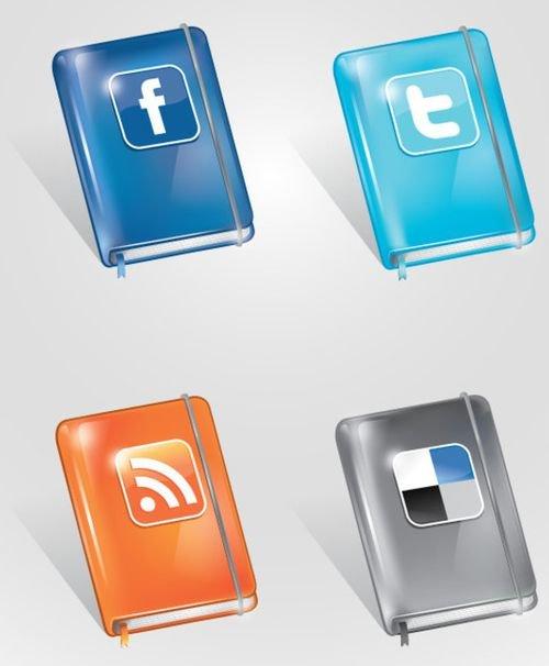 43 набора бесплатных иконок социальных сетей