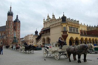 краков средневековый город